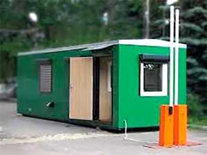 Бердянский пограничный отряд закупил два модульных домика для отдела погранслужбы в Чонгаре
